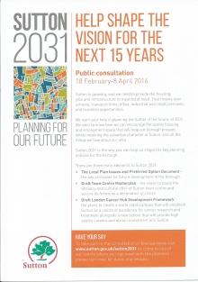 Local Plan leaflet