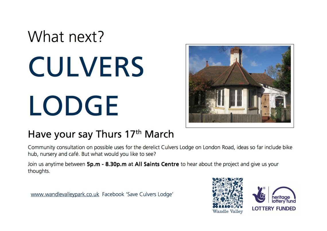 Consultation poster - Culvers Lodge - photo