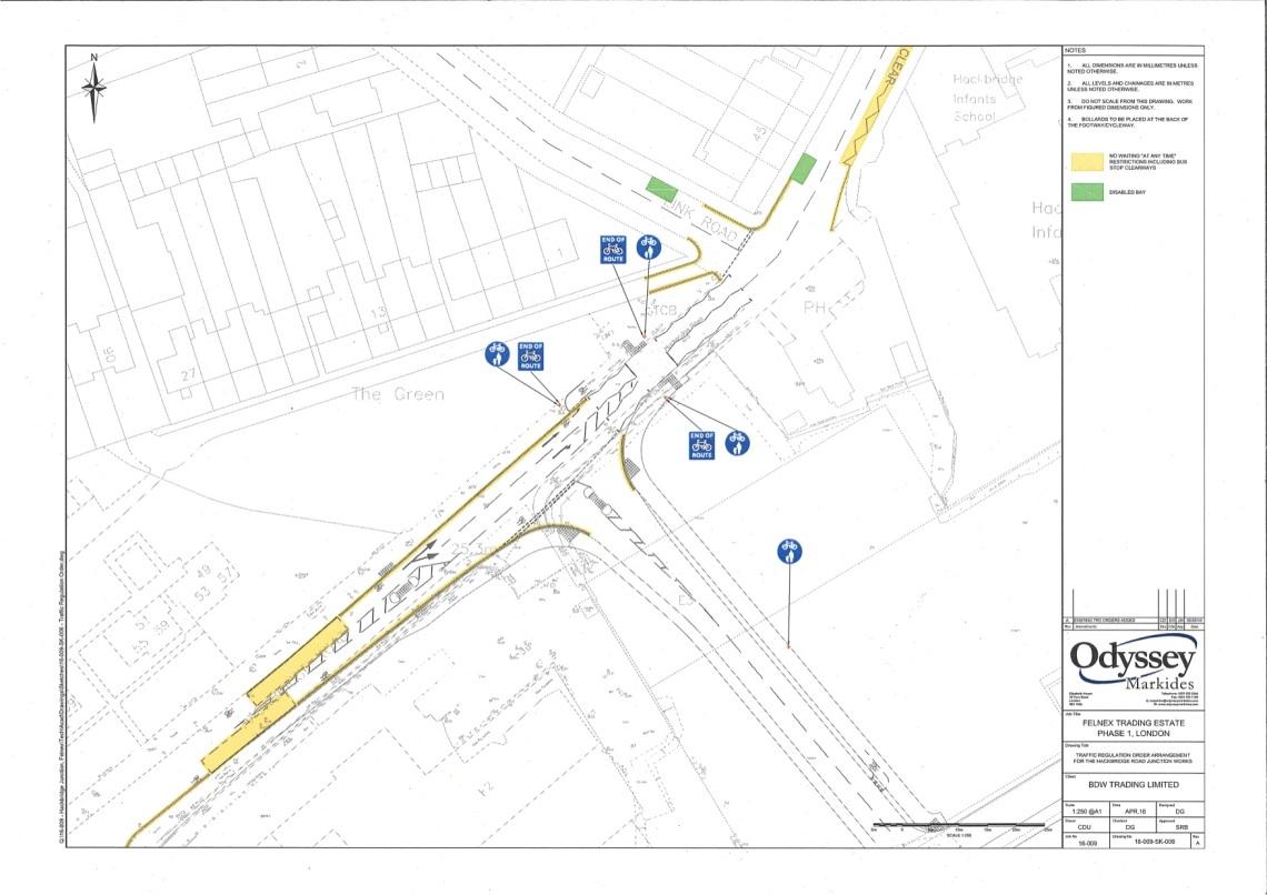 Felnex Hackbridge Rd Felnex Plan
