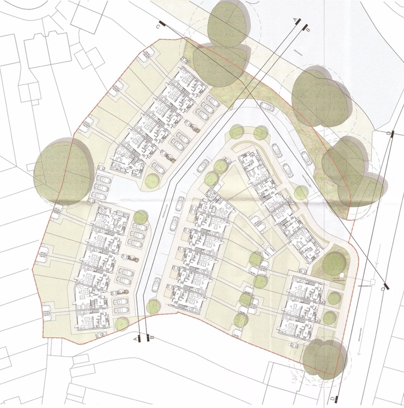 Nightingale Close masterplan